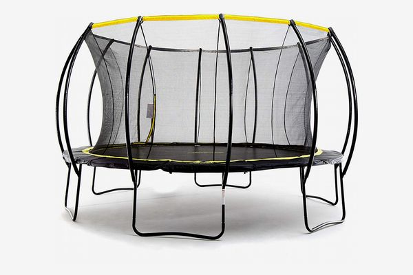 SkyBound Stratos Trampoline with Updated Safety Net & Top Ring