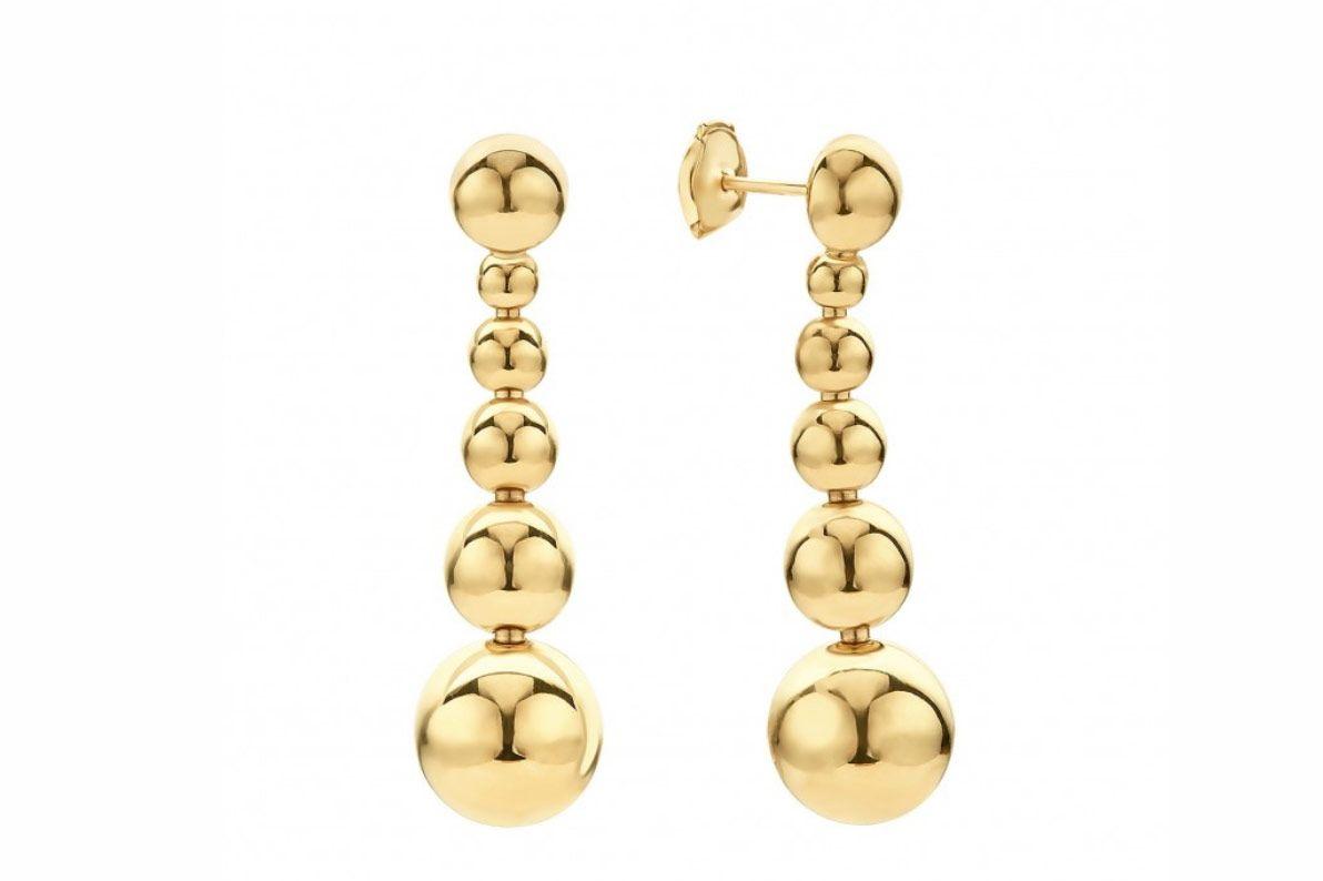 Lagos Caviar Gold Earrings