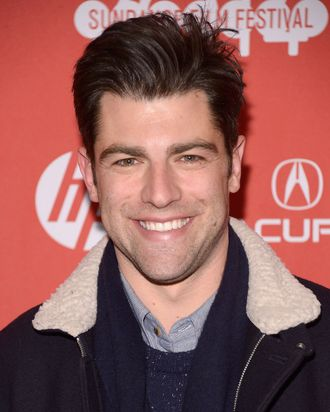 PARK CITY, UT - JANUARY 24: Actor Max Greenfield attends the