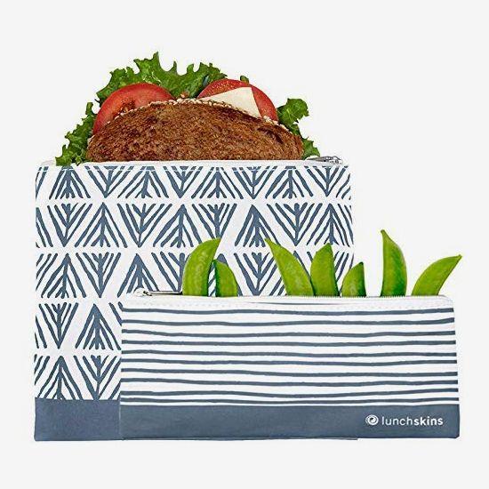 LunchSkins Reusable 2-Piece Food Storage Bag Set