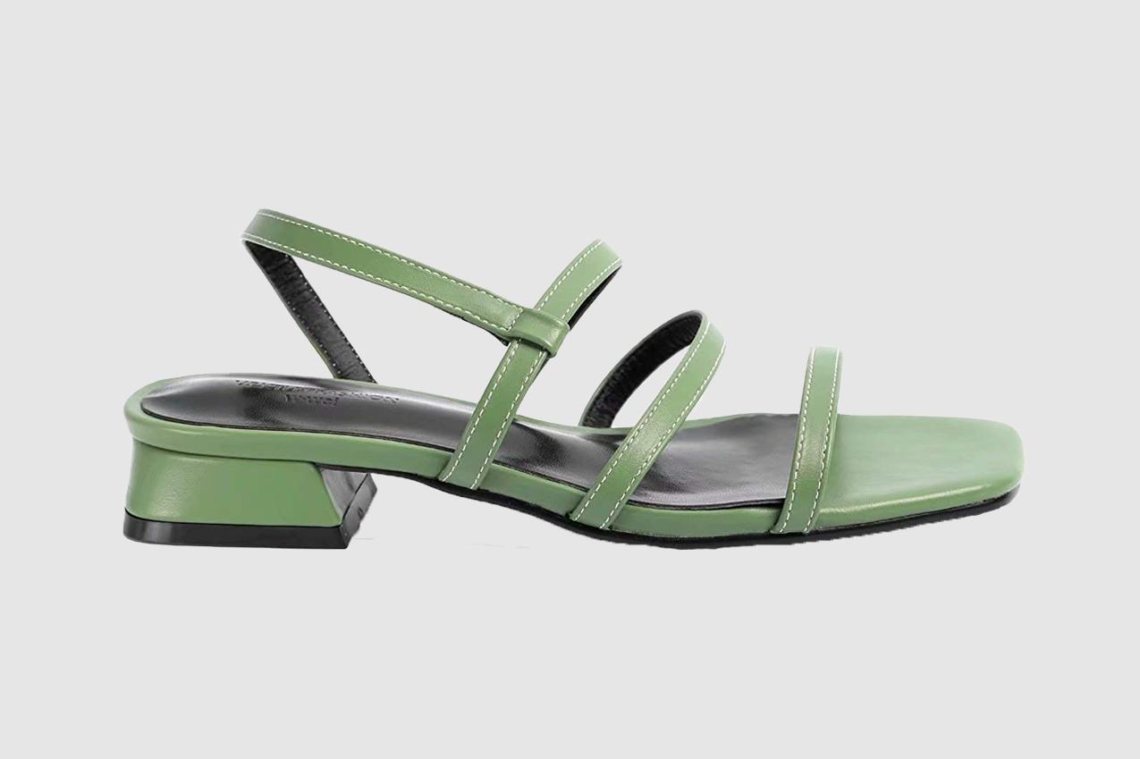 Greatonu Women Slide On Sandals