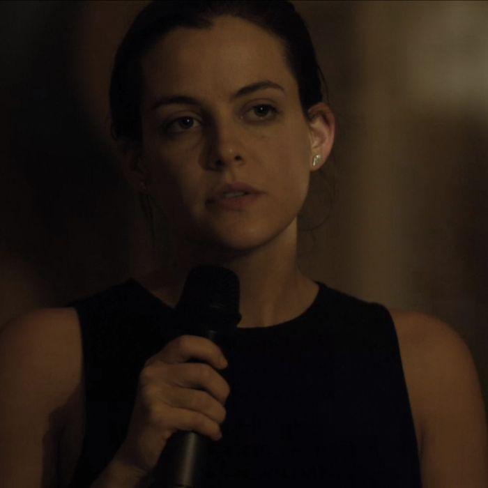 Riley Keough as Christine.