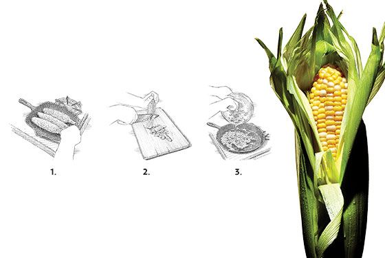 In Season: Esca Chef Dave Pasternak's Corn Salad Wit