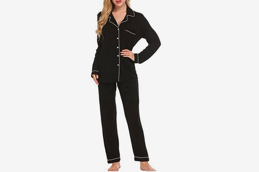e91c1f919e The Amazon Set Everyone Loves. Ekouaer Pajamas Soft PJ Set