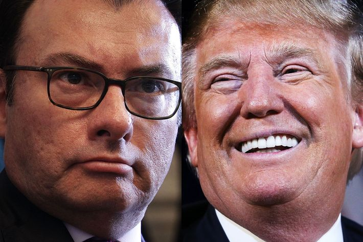 Luis Videgaray Caso and Donald Trump