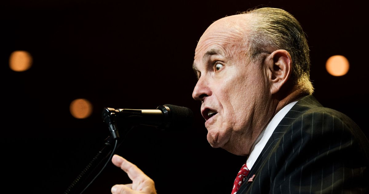 Giuliani's Solution to Legal Woes May Be Impeachment Podcast