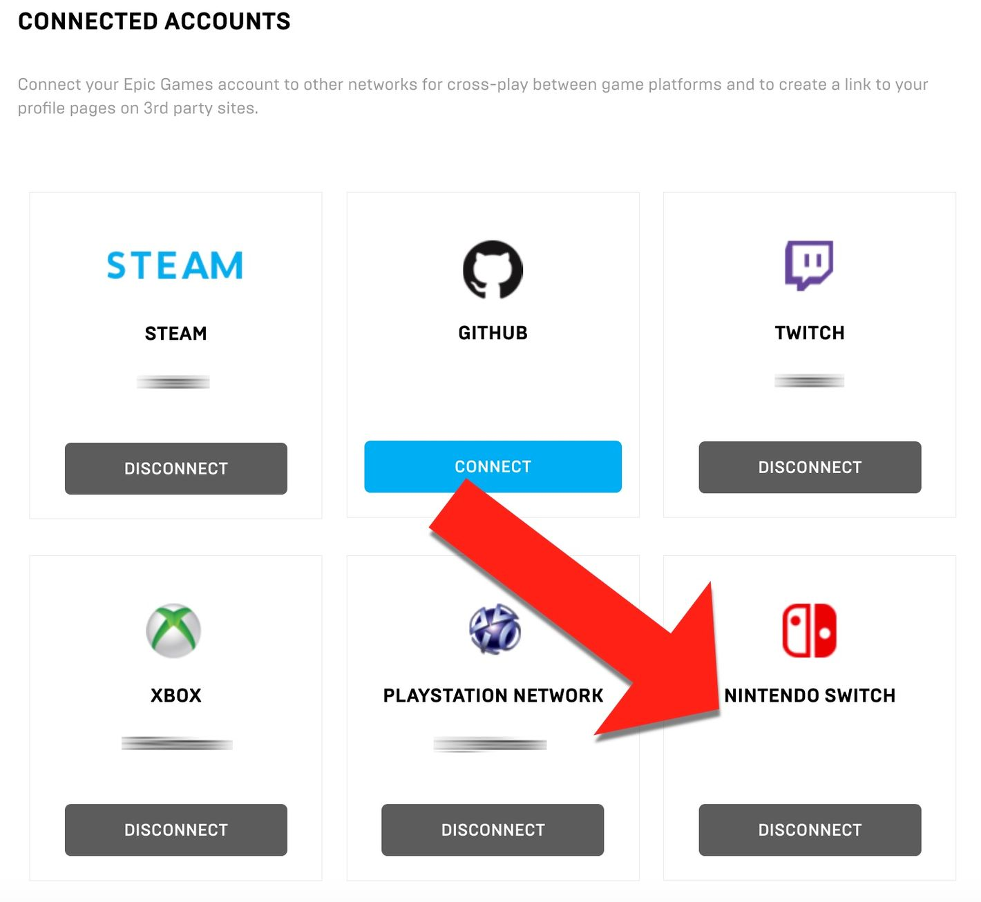How to Link Nintendo Switch Account to Main Fortnite Account