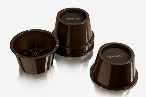 Slipstick 2-Inch Lift Furniture Risers/Bed Risers 4-Pack