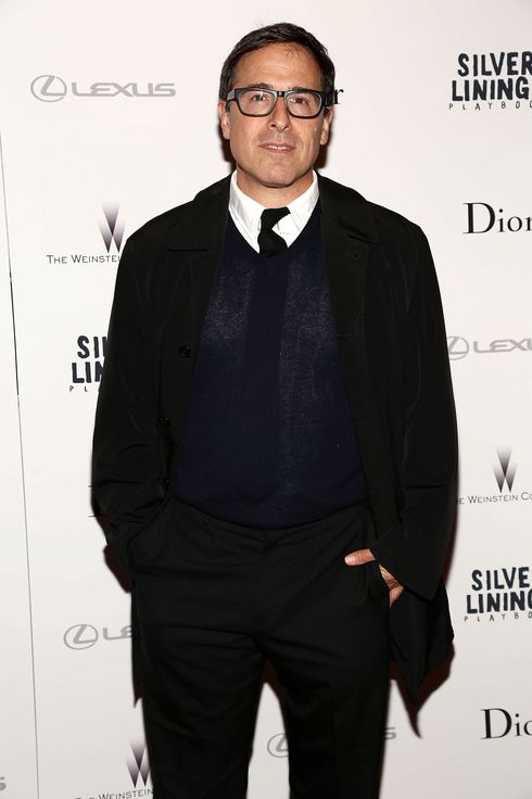 "Director David O. Russell attends the ""Silver Linings Playbook"" New York Premiere at Florence Gould Hall on November 11, 2012 in New York City."