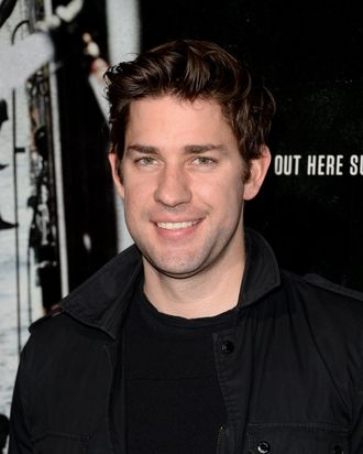 BEVERLY HILLS, CA - SEPTEMBER 30: Actor John Krasinski attends the premiere of Columbia Pictures'