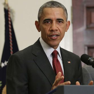 President Obama Makes Statement On Homeland Security And Thanksgiving Weekend