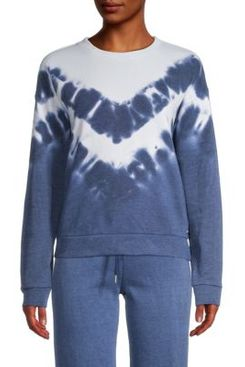 Marc New York Performance Tie-Dyed Cotton-Blend Pullover