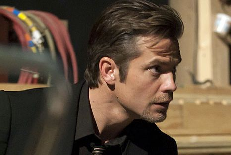 JUSTIFIED: Timothy Olyphant in JUSTIFIED airing Wednesday, April 13 (10:00 PM ET/PT) on FX. CR: Prashant Gupta / FX