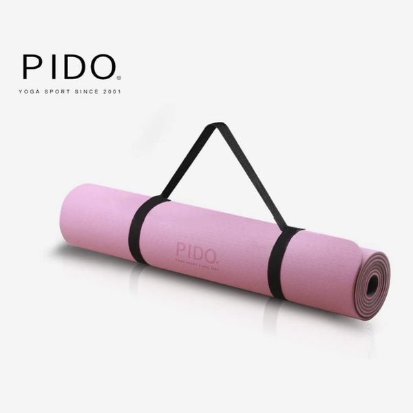 PIDO 6mm Yoga & Pilates Mat With Strap