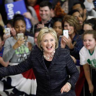 Hillary Clinton Holds Campaign Rally in Cleveland