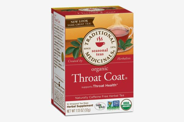 Traditional Medicinals Organic Throat Coat Seasonal Tea