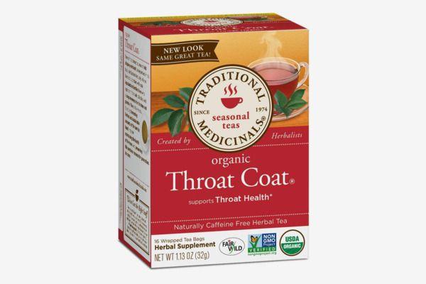 Traditional Medicinals Organic Throat Coat Tea, 16 Tea Bags