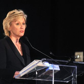 NEW YORK, NY - NOVEMBER 08: Daily Beast editor-in-chief Tina Brown attends the 3rd Annual Norman Mailer Center Gala at the Mandarin Oriental Hotel on November 8, 2011 in New York City. (Photo by Henry S. Dziekan III/Getty Images)