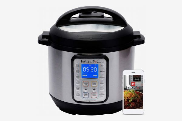 Instant Pot Smart Wi-Fi 6 Quart Multi-Use Electric Pressure Cooker