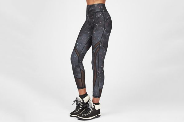 Sweaty Betty Reversible High Waisted Mesh 7/8 Yoga Leggings
