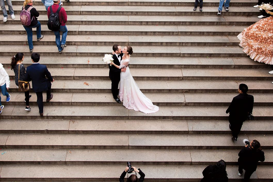 Nymag Real Weddings: Real Wedding Album: An Operatic Occasion -- The Cut