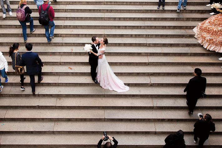 Nymag Real Weddings: Real Wedding Album: An Operatic Occasion For A Costume