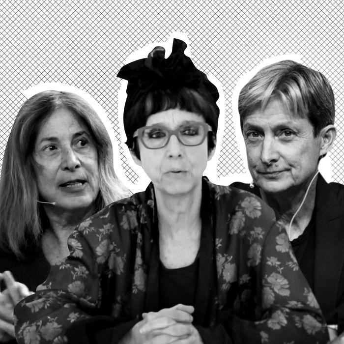 Chris Kraus, Avital Ronell, Judith Butler.