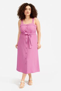 Everlane Japanese GoWeave Picnic Dress