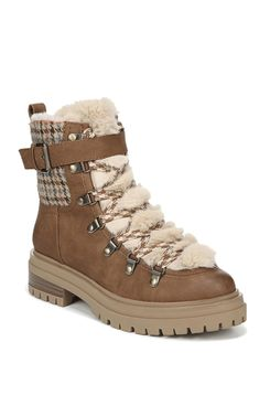 Circus by Sam Edelman Gretchen Shearling Hiker Boot (Women's)