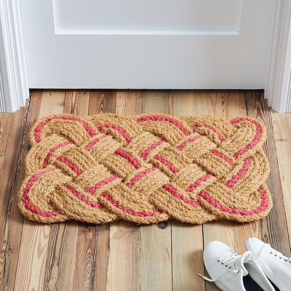 West Elm Pop Woven Doormat (Petunia)