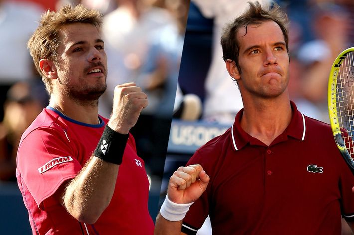 Stanislas Wawrinka and Richard Gasquet