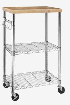 Amazon Basics Rolling Microwave Cart
