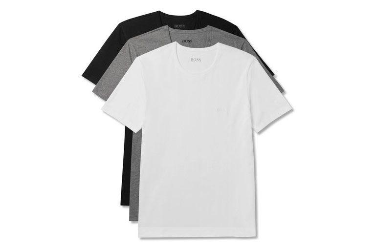 Hugo Boss Three Pack T Shirt Set