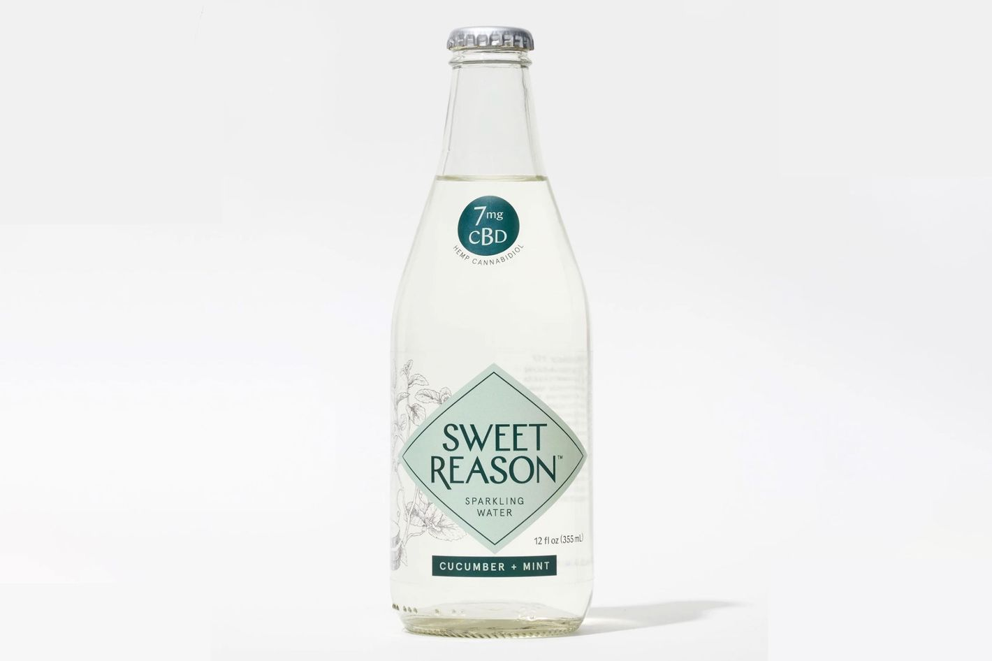 Sweet Reason Cucumber + Mint Sparkling Water (6)