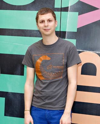 NEW YORK, NY - AUGUST 14: Michael Cera attends the 'This is our Youth' Photo Call at the Cort Theatre on August 14, 2014 in New York City. (Photo by Walter McBride/WireImage)