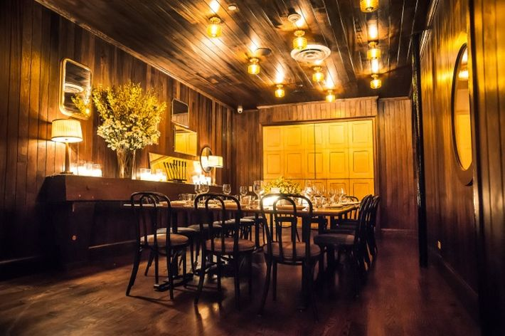 Party time 18 outstanding new private dining spaces in for Best restaurants with private dining rooms nyc