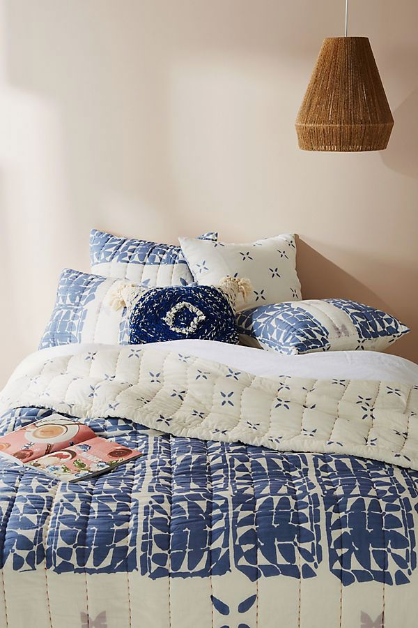 Block-Printed Gila Quilt, Full