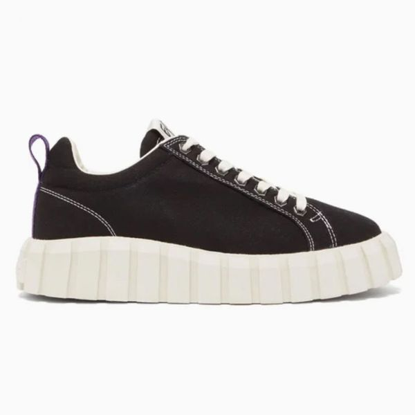 Eytys Odessa Corrugated Rubber-Sole Canvas Trainers