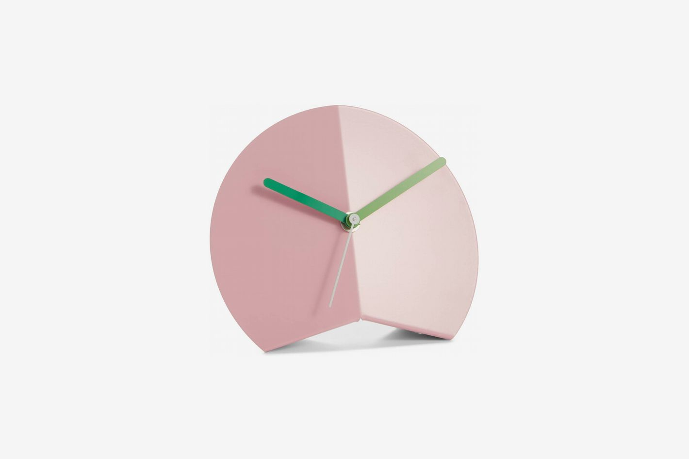 Block Mountain Fold Desk Clock