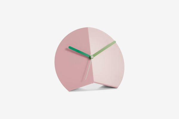 Block Mountain Fold Desk Clock