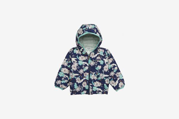 Patagonia Reversible Down Sweater Hoodie (Toddler Girls)