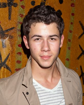 WEST HOLLYWOOD, CA - AUGUST 27: Singer Nick Jonas attends MTV's Concert To Benefit Lifebeat at the House of Blues on August 27, 2011 in West Hollywood, California. (Photo by Imeh Akpanudosen/Getty Images)