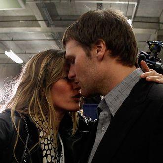 Gisele and Tom.