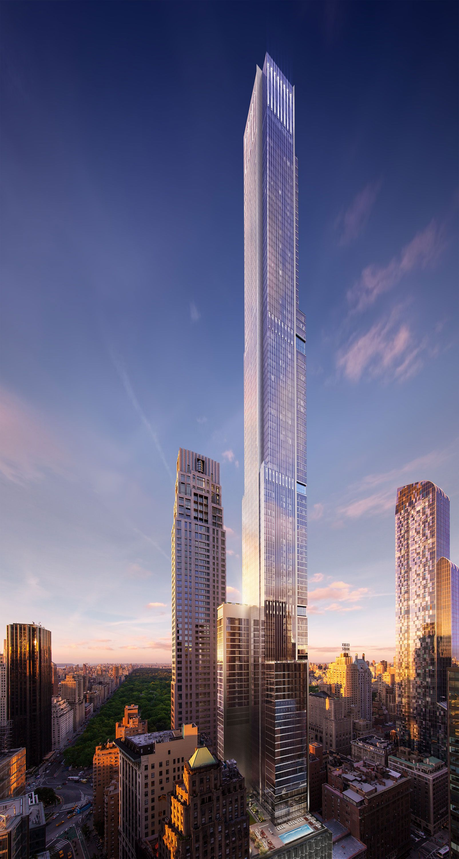The Challenges of Designing NYC's Tallest Apartment Building