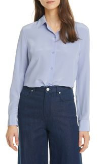 Equipment Essential Solid Silk Blouse