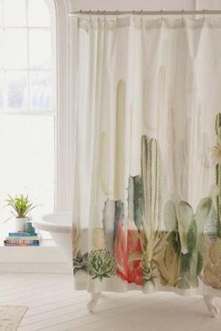 Cactus Landscape Shower Curtain