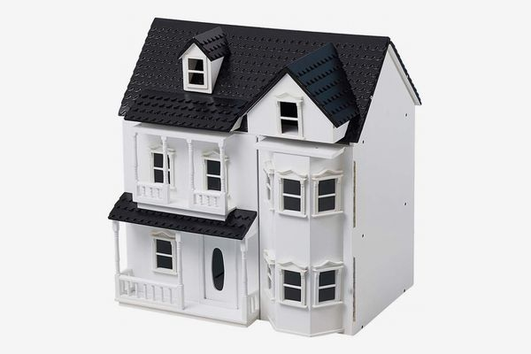 HILIROOM Wooden Victorian Dollhouse