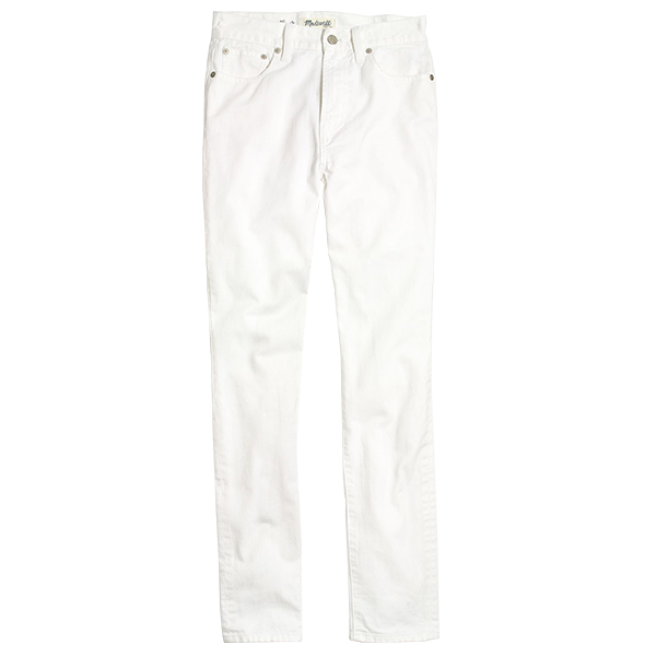 How to Find Your Perfect Pair of White Jeans