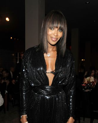 MIAMI, FL - DECEMBER 02: Naomi Campbell attends a private cocktail and dinner party hosted by DSQUARED2 Designers Dean & Dan Caten and VMAN Magazine at The Webster on December 2, 2011 in Miami, Florida. (Photo by Rabbani and Solimene Photography/Getty Images for DSQUARED2)