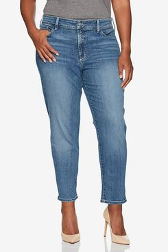 NYDJ Women's Plus Size Alina Skinny Convertible Ankle Jeans